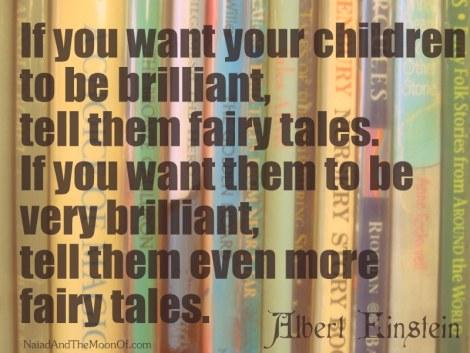 Einstein Quote on Fairy Tales