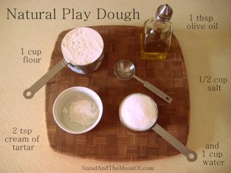 Natural Play Dough
