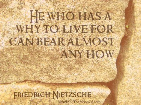 Nietzsche Quote by Naiad and the Moon of