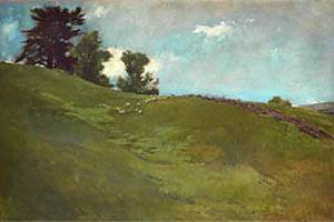 Cornish New Hampshire Landscape by John Alexander White, via Ocean's Bridge