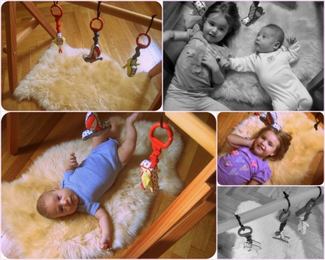 Wooden Baby Gym 8